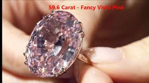 pink star diamond ring the most expensive diamond in the world youtube