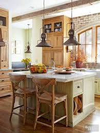 farmhouse island kitchen the farmhouse 31 20 farmhouse kitchens via a blissful nest