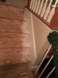 replace stair treads on a prefabricated staircase home
