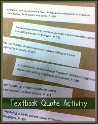 education quote for parents upcycled education textbook quote activity guest blogger guest