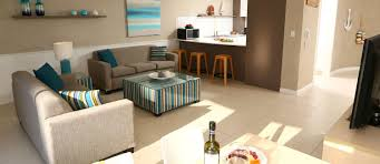 living and kitchen design broadbeach holiday apartments biarritz apartments