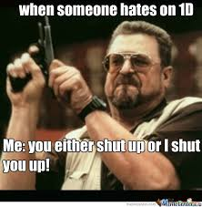 Memes 1d - when someone hates on 1d by emoschoolgirl meme center