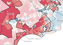 Chester Pa Map Exploring Pennsylvania U0027s Gerrymandered Congressional Districts