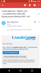 Naukri Jobs Resume Upload by How To Enable Your Email Client To Display Images Automatically
