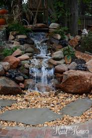 Landscaping Ideas For Backyard by 827 Best Backyard Waterfalls And Streams Images On Pinterest