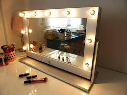 stand alone mirror with lights best mirror lights ideas only on standing makeup mirror beautiful