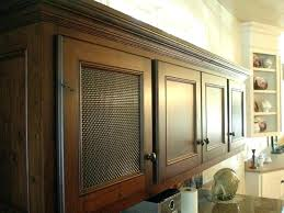 Cabinet Door Mesh Inserts Wire Mesh Cabinet Doors Image For Wire Grilles For Cabinet