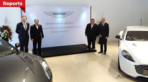 aston martin showroom aston martin jakarta showroom indonesia autonetmagz