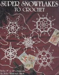 1614 best crochet snowflakes images on crochet