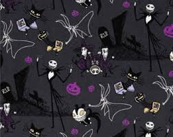 Nightmare Before Christmas Baby Bedding Nightmare Before Christmas Crib Bedding Etsy