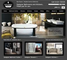 bathroom and kitchen designs bathroom kitchen studio web design portfolio
