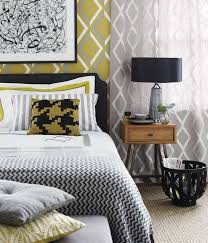 Grey Yellow And Black Bedroom by Best 25 Black And Grey Wallpaper Ideas Only On Pinterest Black