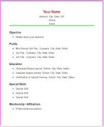 how to write a simple resume sample u2013 topshoppingnetwork com
