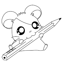 Hamster 38 Animaux  Coloriages à imprimer
