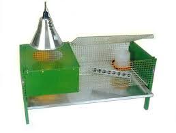 gabbia per pulcini gabbia riscaldata per pulcini e quaglie 100x50x50 cm
