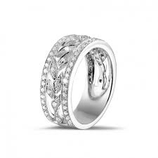 Platinum Diamond Wedding Rings by Unique Marriage With Diamond Wedding Rings Baunat