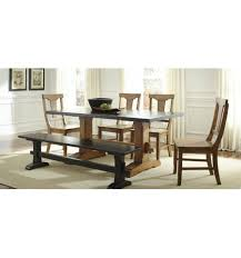 trestle dining table with bench 72 inch heavy trestle dining table simply woods furniture