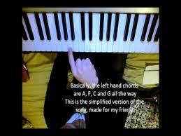 wedding dress chord taeyang wedding dress piano tutorial simplified and normal