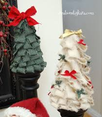 how to make wrapping paper christmas trees decoration easy shabby