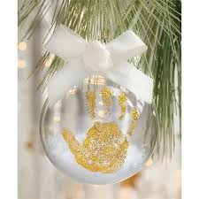 3 set ornament kit features glass ornament filled with