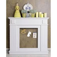 cornice camino mobili cadre decoratif chemin礬e decorative bois blanc