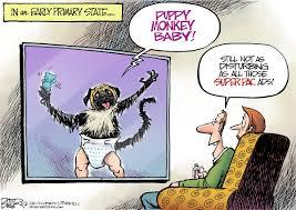 Nate Beeler Cartoons Beeler Cartoon Puppy Monkey Baby