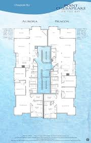 Square Floor Plans For Homes Floor Plans Of Point Chesapeake Offer Waterfront Views
