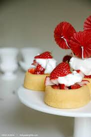 Dessert Flags Easy Strawberry Shortcake Homemade Whipped Cream An Appealing Plan