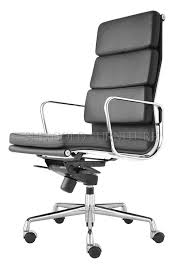 modern high back manager chair leather executive chair reclining