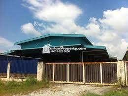 detached warehouse for rent at teluk gong workshop port klang for