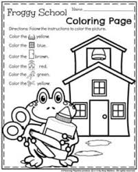 back to preschool worksheets planning playtime