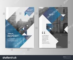Minimalism Design Abstract Minimalism Design Annual Report Flyer Stock Vector