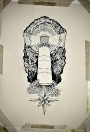 Lighthouse Tattoo Ideas Traditional Lighthouse Tattoo Flash Tattoo Ideas Pinterest