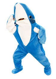 go as your favorite meme this halloween shark costumes left
