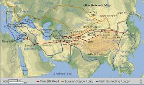 Turkestan Map Newsilk Png 1 210 717 Pixels Jesus Issa And Youza Asouph