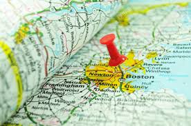 Map Of Boston Massachusetts by Boston On Map Stock Photo Picture And Royalty Free Image Image