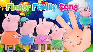 Halloween Poems Children Daddy Peppa Pig Finger Family Song Toy Nursery Rhyme Kids