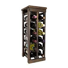 amazon com el mar furnishings 12 bottle classic wood wine rack