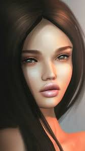 the daria hair exle 3d 3d art art girl artists background beautiful beautiful