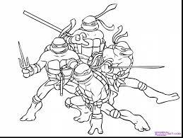 breathtaking teenage mutant ninja turtle coloring pages
