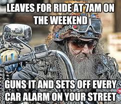 Funny Biker Memes - inconsiderate biker memes quickmeme