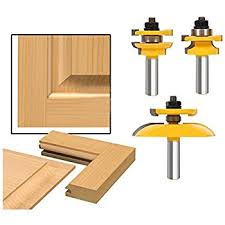 Router Bits For Cabinet Doors Accoed 3pcs 1 2 Shank Rail Stile Ogee Blade Cutter Panel