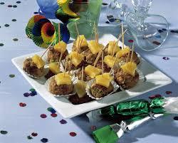 Esszimmer Silvesteressen Ananas Hackbällchen Rezept Eat Smarter