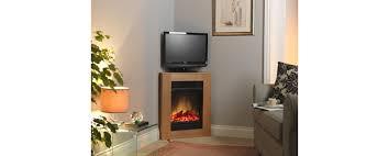 Oak Corner Fireplace by Launched The Corelli Oak Compact Corner Fireplace Suite