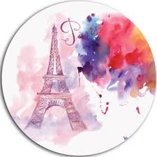 eiffel tower modern wall decor wayfair