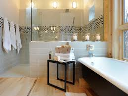 bathroom decorating tips ideas pictures from hgtv hgtv black and white bathroom with pops of yellow