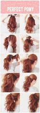 Easy Dressy Hairstyles For Long Hair by Best 20 Medium Hair Ponytail Ideas On Pinterest Easy Hair Up