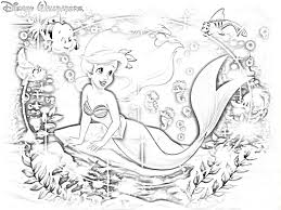 christmas disney princess coloring pages ariel coloring pages for
