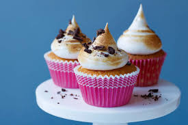 toasted marshmallow cupcakes recipe epicurious com