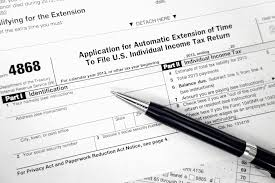how to file a federal tax return extension
